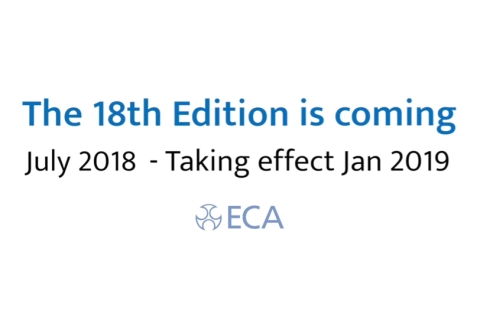 eca launches new project18 wiring regulations campaign