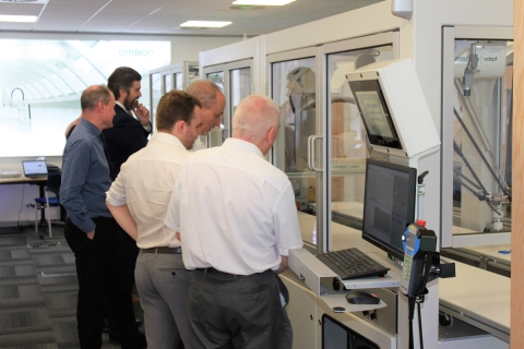 Omron's £600k lab is designed to help customers automate with a 'proof of concept' facility