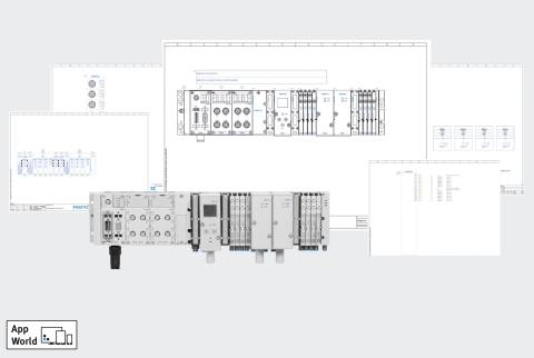 Figure 2 – Festo's new Schematic Solutions software supports customers throughout the Digital Journey toward the implementation of Industry 4.0.