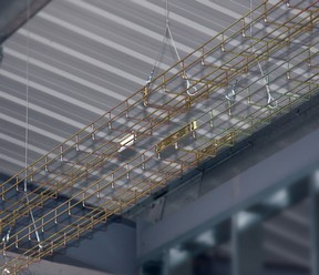 Newey & Eyre - Newlec wire basket cable tray provides a time saving ...