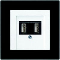 jung stylish usb charger added to wiring accessories range. Black Bedroom Furniture Sets. Home Design Ideas