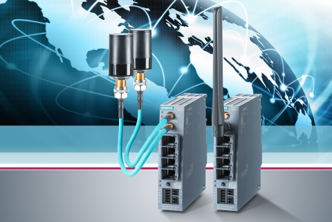 Siemens plc - Wireless router for high-bandwidth remote communication